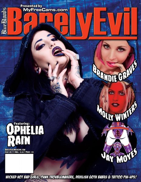 Fetish Artist Featured in Latest Issue of Barely Evil